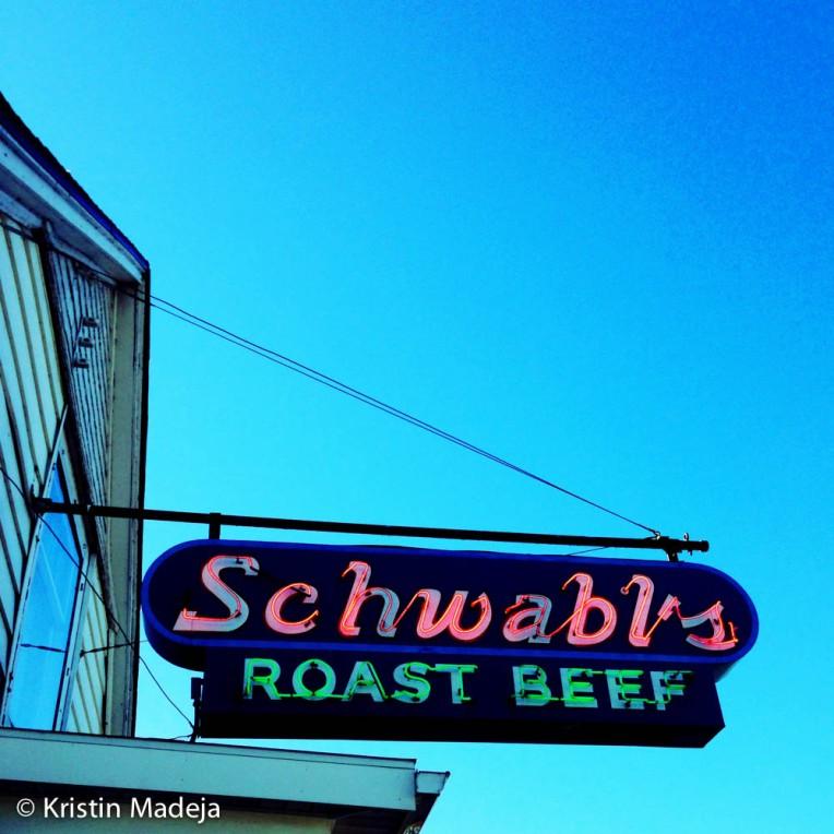 Schwabl's sign