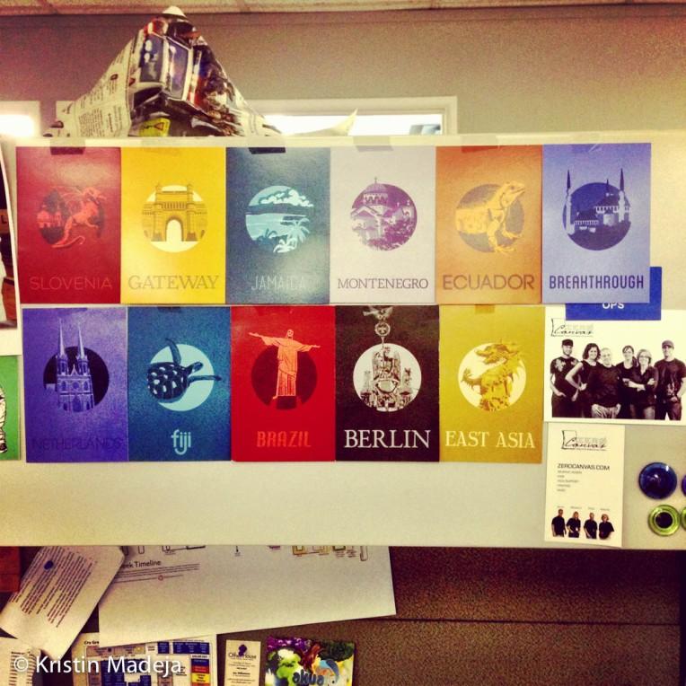 new desk art